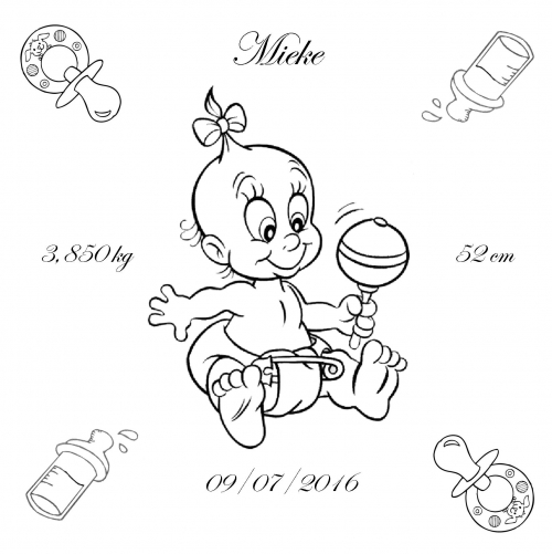 Geboorte meisje sambabal