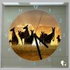 Vierkante klok kangoeroes