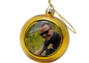 Kerstbal Goud 8 cm
